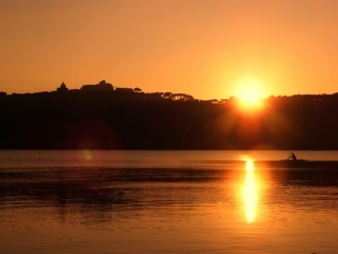 tramonto_sul_lago_albano
