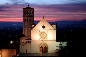 chiesa-assisi-sera